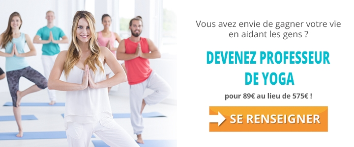 Devenir professeur de yoga